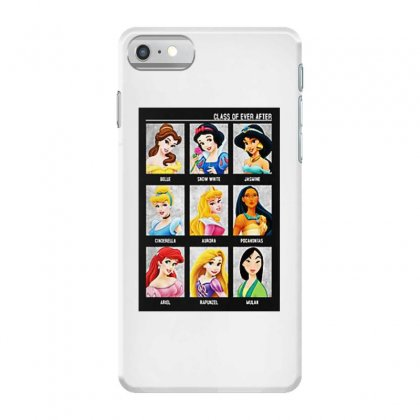 Princess Class Of Ever After Girls Iphone 7 Case Designed By Pinkanzee