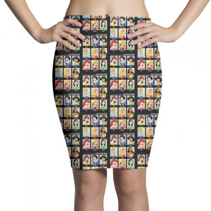 Princess Class Of Ever After Girls Pencil Skirts Designed By Pinkanzee