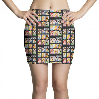 Princess Class Of Ever After Girls Mini Skirts Designed By Pinkanzee