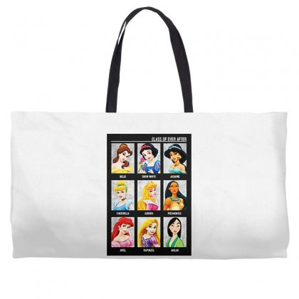 Princess Class Of Ever After Girls Weekender Totes Designed By Pinkanzee