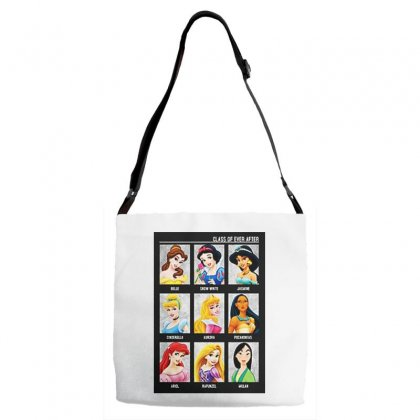 Princess Class Of Ever After Girls Adjustable Strap Totes Designed By Pinkanzee