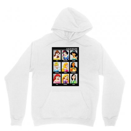 Princess Class Of Ever After Girls Unisex Hoodie Designed By Pinkanzee