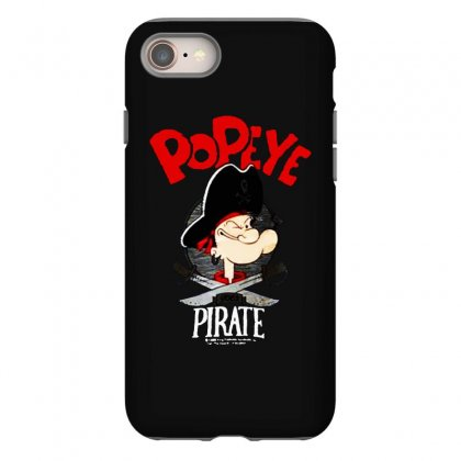 Popeye Goes Pirate Iphone 8 Case Designed By Pinkanzee