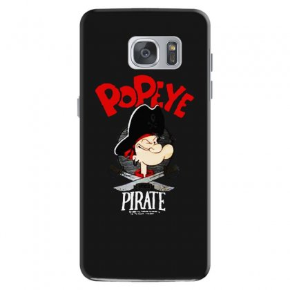 Popeye Goes Pirate Samsung Galaxy S7 Case Designed By Pinkanzee