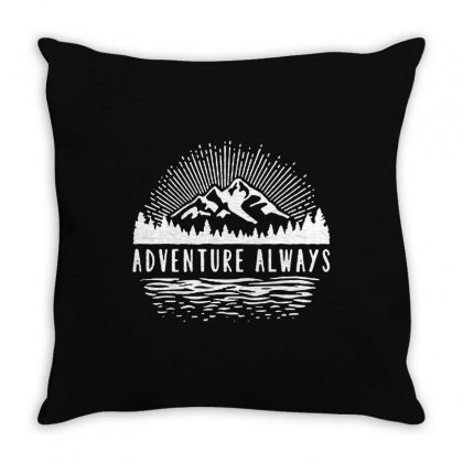 Outdoors Throw Pillow Designed By Pinkanzee