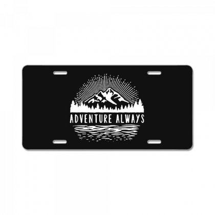 Outdoors License Plate Designed By Pinkanzee