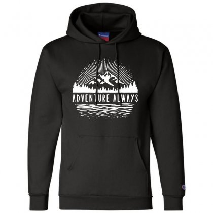 Outdoors Champion Hoodie Designed By Pinkanzee