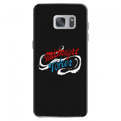 Midnight Toker Samsung Galaxy S7 Case Designed By Pinkanzee