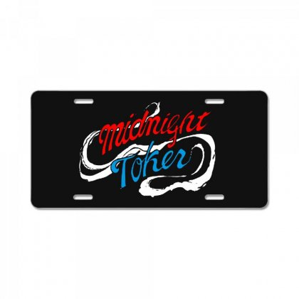 Midnight Toker License Plate Designed By Pinkanzee