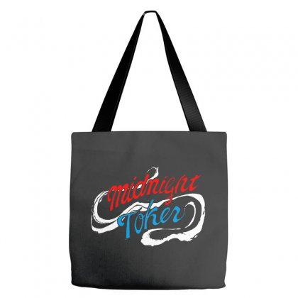 Midnight Toker Tote Bags Designed By Pinkanzee