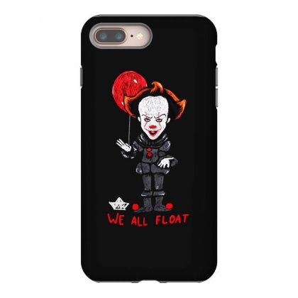It Pennywise We All Float Iphone 8 Plus Case Designed By Pinkanzee
