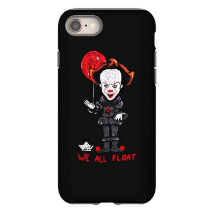 It Pennywise We All Float Iphone 8 Case Designed By Pinkanzee