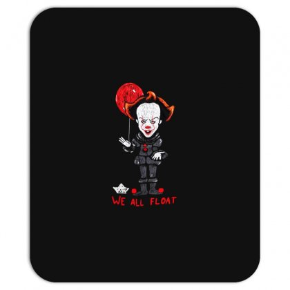 It Pennywise We All Float Mousepad Designed By Pinkanzee