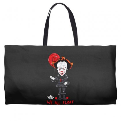 It Pennywise We All Float Weekender Totes Designed By Pinkanzee