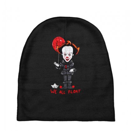 It Pennywise We All Float Baby Beanies Designed By Pinkanzee