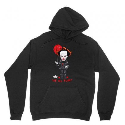 It Pennywise We All Float Unisex Hoodie Designed By Pinkanzee