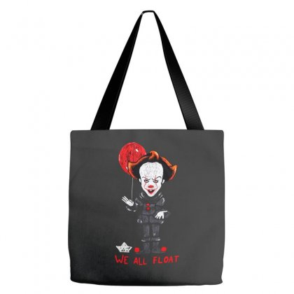 It Pennywise We All Float Tote Bags Designed By Pinkanzee