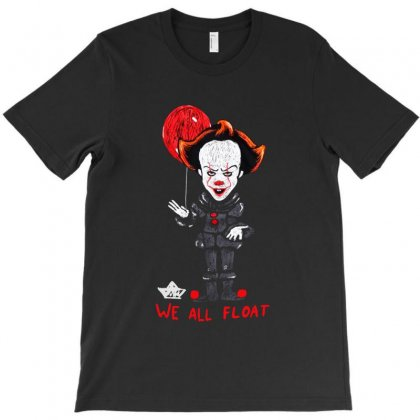It Pennywise We All Float T-shirt Designed By Pinkanzee