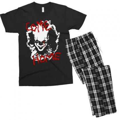 It Chapter Two Come Home Men's T-shirt Pajama Set Designed By Pinkanzee