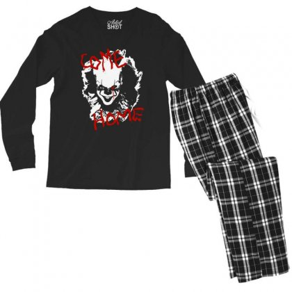 It Chapter Two Come Home Men's Long Sleeve Pajama Set Designed By Pinkanzee