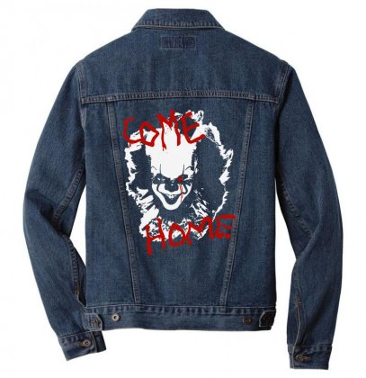 It Chapter Two Come Home Men Denim Jacket Designed By Pinkanzee