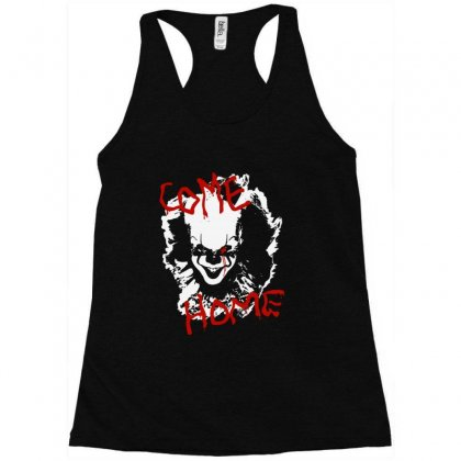 It Chapter Two Come Home Racerback Tank Designed By Pinkanzee