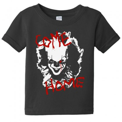 It Chapter Two Come Home Baby Tee Designed By Pinkanzee