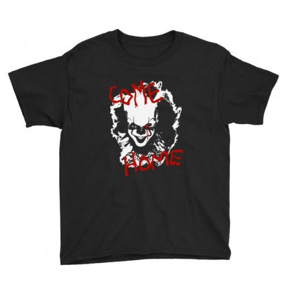 It Chapter Two Come Home Youth Tee Designed By Pinkanzee