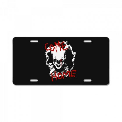 It Chapter Two Come Home License Plate Designed By Pinkanzee