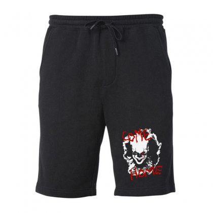 It Chapter Two Come Home Fleece Short Designed By Pinkanzee