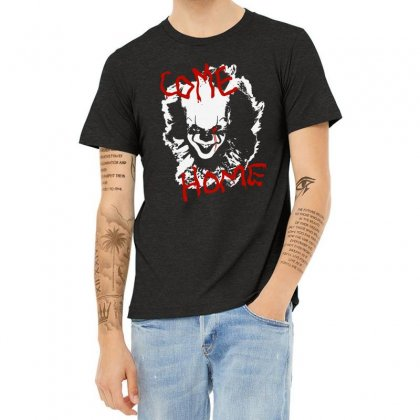 It Chapter Two Come Home Heather T-shirt Designed By Pinkanzee