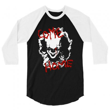 It Chapter Two Come Home 3/4 Sleeve Shirt Designed By Pinkanzee