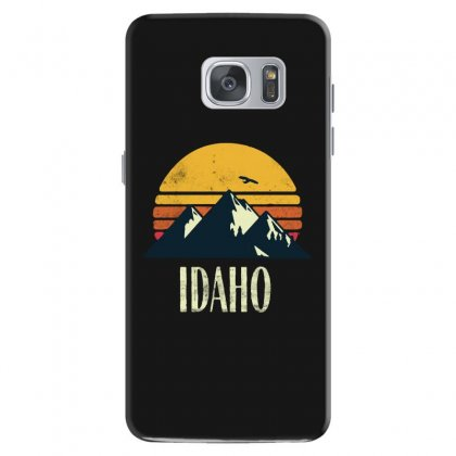 Idaho Retro Vintage Samsung Galaxy S7 Case Designed By Pinkanzee