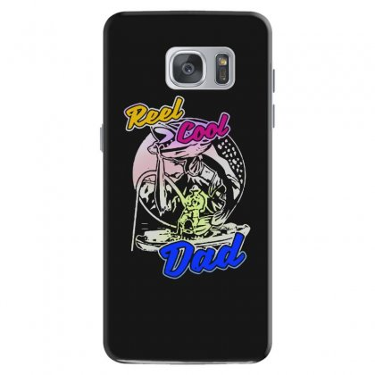 Dad Gift Funny   Reel Cool Dad Samsung Galaxy S7 Case Designed By Pinkanzee