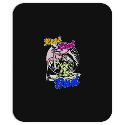Dad Gift Funny   Reel Cool Dad Mousepad Designed By Pinkanzee