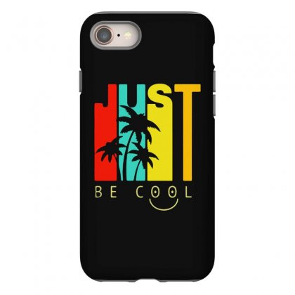 Hawaiian Just Be Cool Vintage Iphone 8 Case Designed By Pinkanzee