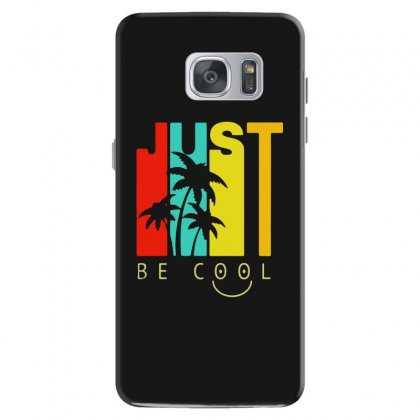 Hawaiian Just Be Cool Vintage Samsung Galaxy S7 Case Designed By Pinkanzee