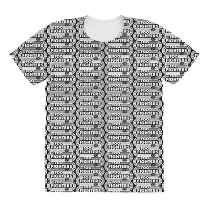 Foo White Style All Over Women's T-shirt Designed By Pinkanzee