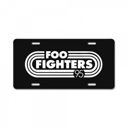 Foo White Style License Plate Designed By Pinkanzee