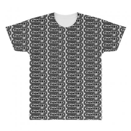 Foo Black Style All Over Men's T-shirt Designed By Pinkanzee