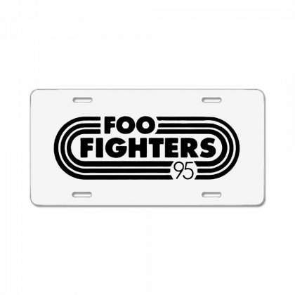 Foo Black Style License Plate Designed By Pinkanzee