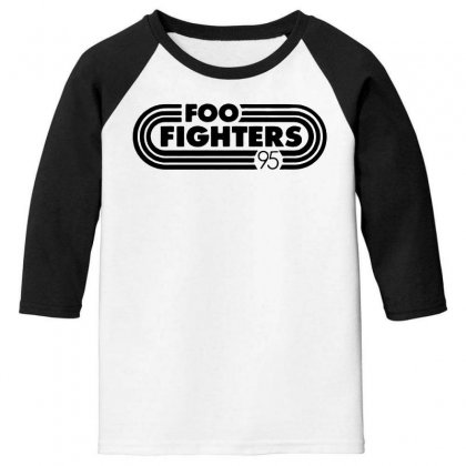 Foo Black Style Youth 3/4 Sleeve Designed By Pinkanzee