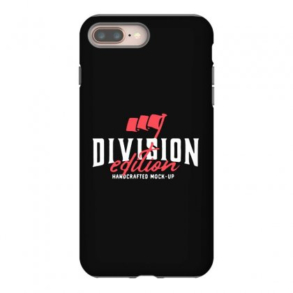 Division Iphone 8 Plus Case Designed By Pinkanzee