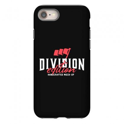 Division Iphone 8 Case Designed By Pinkanzee