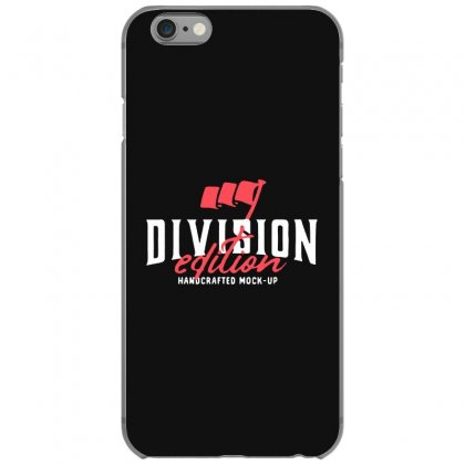 Division Iphone 6/6s Case Designed By Pinkanzee
