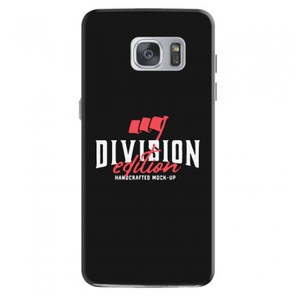 Division Samsung Galaxy S7 Case Designed By Pinkanzee