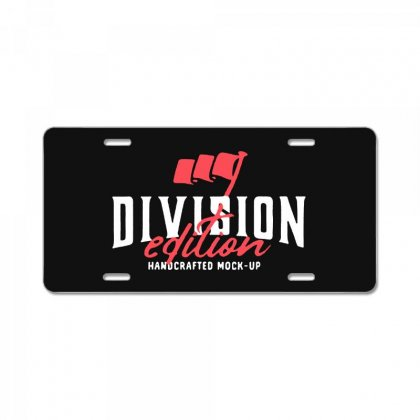 Division License Plate Designed By Pinkanzee