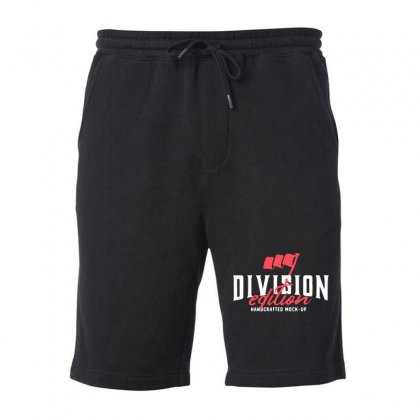Division Fleece Short Designed By Pinkanzee