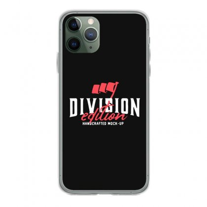 Division Iphone 11 Pro Case Designed By Pinkanzee