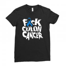 colon cancer Ladies Fitted T-Shirt | Artistshot